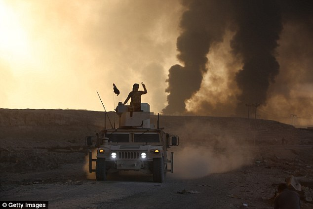 Just days ago, the Iraqi army took back Mosul, in Iraq, from ISIS extremists