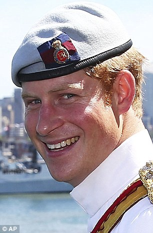 Prince Harry in Sydney Australia in 2013