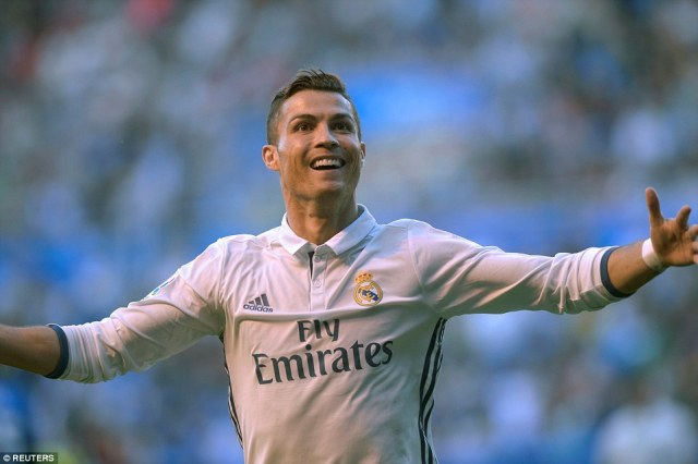 Alaves' lead lasted just ten minutes as Cristiano Ronaldo equalised from the penalty spot