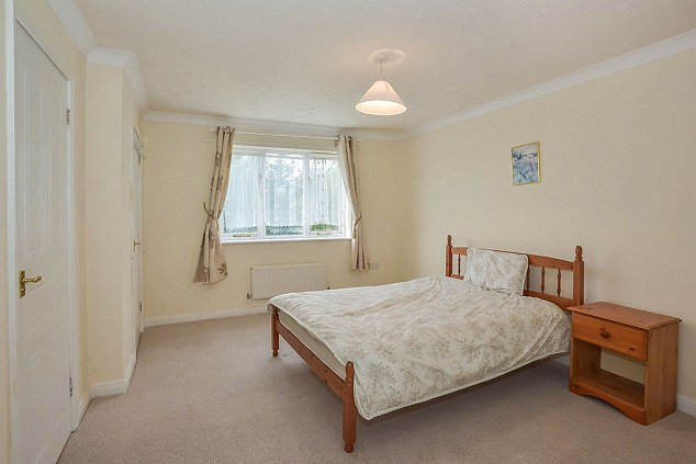 The four-bedroom property has a master room with en suite plus three other doubles