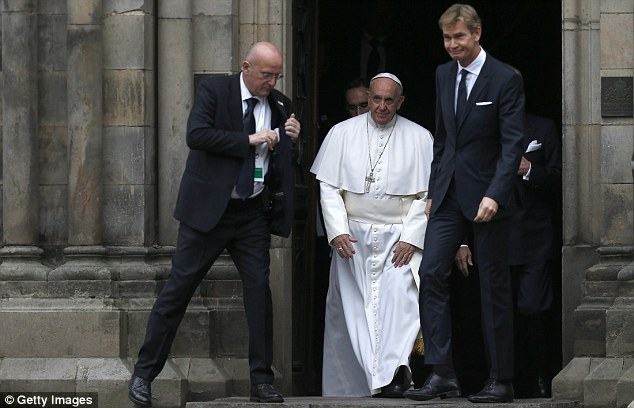 Francis continues his visit tomorrow with a Catholic Mass in the Malmo sports stadium