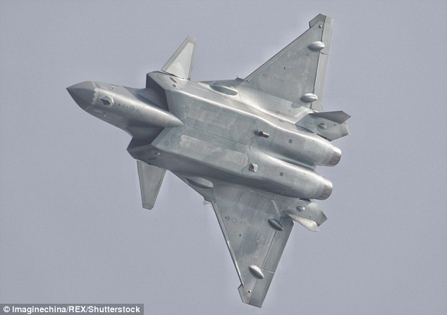 Chinese national Su Bin  admitted in a plea agreement with US authorities to conspiring with two unnamed military officers in China to try to acquire plans for F-22 and F-35 fighter jets and Boeing's C-17 military transport aircraft. He was sentenced to just under four years. Pictured at the Chinese airshow is the new J-20