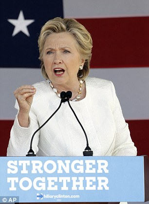 Google's Eric Schmidt gave Hillary Clinton's (pictured) team a campaign plan a full year before she announced her intentions to run for president