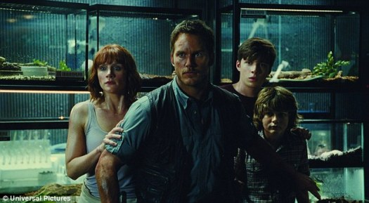 Snapped up: Wanda owns Legendary Pictures, which produced Jurassic World (pictured), but Wang wants one of the 'big six' studios, and is now preparing to invest in every single one