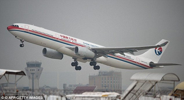 Both aircraft involved in the near collision belong to China Eastern Airlines (file photo)