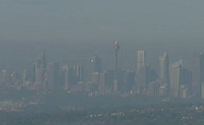Sydney Covered In Thick Smoke As Asthma Sufferers Warned