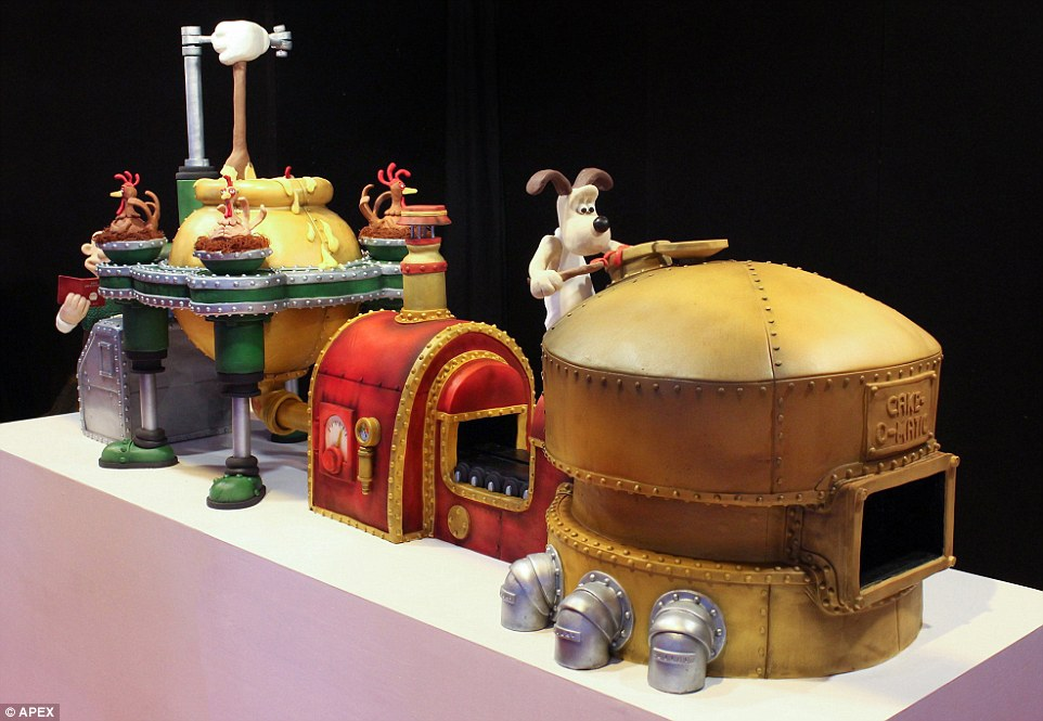Wallace And Gromit Inspired Cake That Weighs 20 Stone And