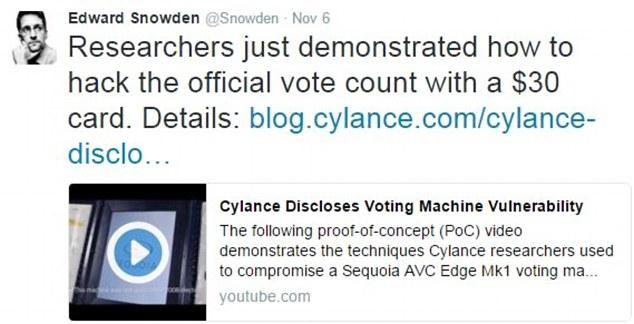 Image result for vote machine hacking