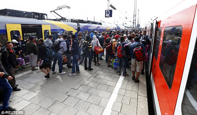 Bavaria is talking of a shortfall in cash this year of over 300 million pounds for refugee care