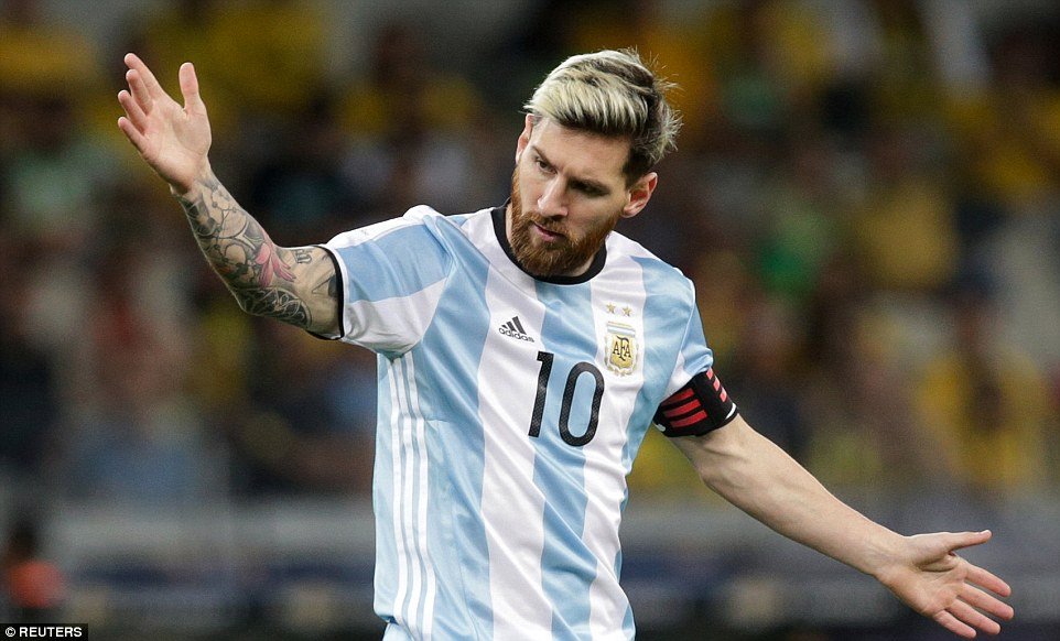 It was a frustrating night for Messi and his Argentina side as he struggled to truly stamp his mark on the contest