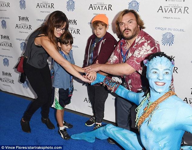 Josh Duhamel's son Axl steals the show for new Avatar-inspired Cirque du Soleil | Daily Mail Online