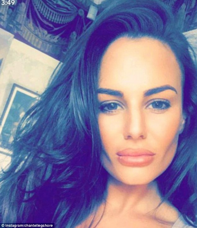 Moving on: The star left Geordie Shore over the summer to be with Tommy, but the pair split within weeks - and very soon after she had the tattoo inked on her neck