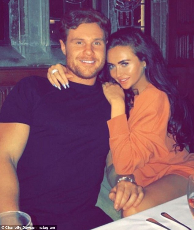 'Reason why I can't stop smiling': Two weeks ago Charlotte made her relationship debut with Matt on Instagram with a loved-up snap