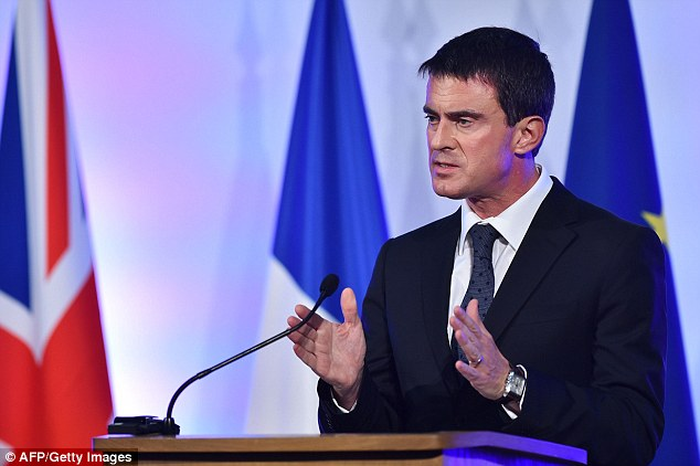 The EU will collapse if Germany and France do not begin to listen to people's concerns on immigration and Islamist terrorism, the French Prime Minister Manuel Valls has warned
