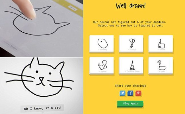 Google Game Quick Draw Uses Ai To Guess What You Re