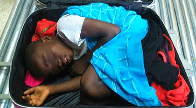 Last year an eight-year-old boy, Abou, from Ivory Coast, was smuggled into Spain from Morocco inside a suitcase