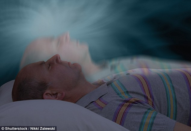 While asleep Dr Parti says he left his body and 'felt like an astronaut who'd left his spacesuit'. He saw visions of his family and former patients (stock photo)