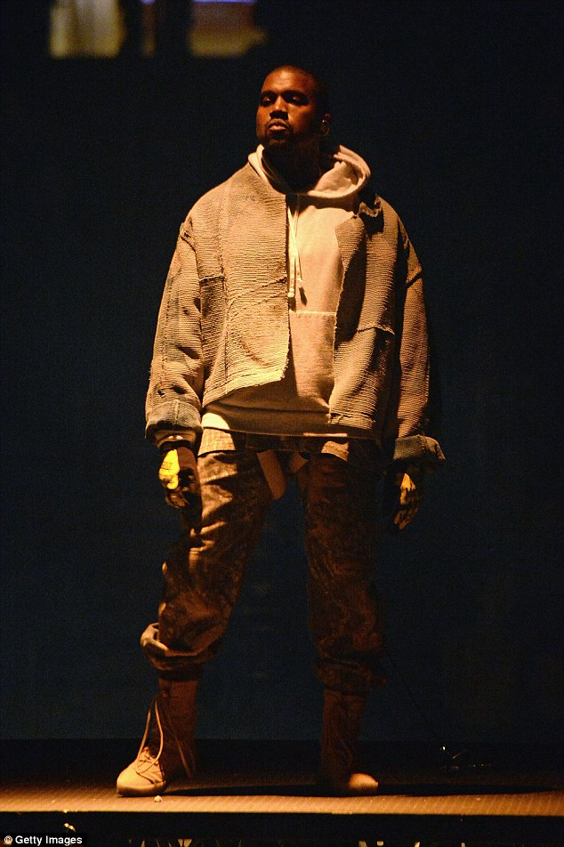 Show's over: Kanye West (pictured in September) has left fans shocked once again after abruptly ending Saint Pablo concert in Sacramento on Saturday after just 10 minutes and after another fiery rant taking aim at several people