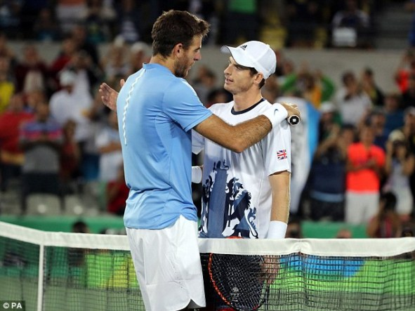 Image result for Murray, Del Potro Up For Global Sports Honours