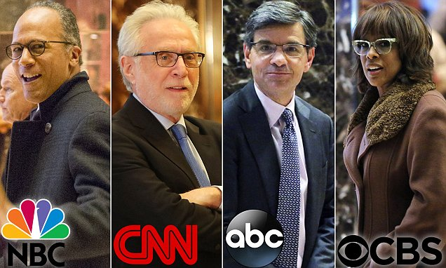 Trump summons network executives and anchors from 'the dishonest media' to Trump Tower