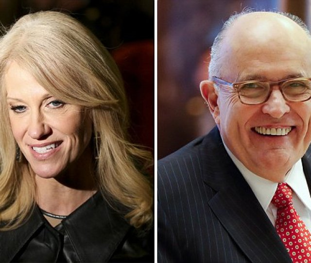 Kellyanne Conway Says Giuliani Under Consideration For Director Of National Intelligence Daily Mail Online
