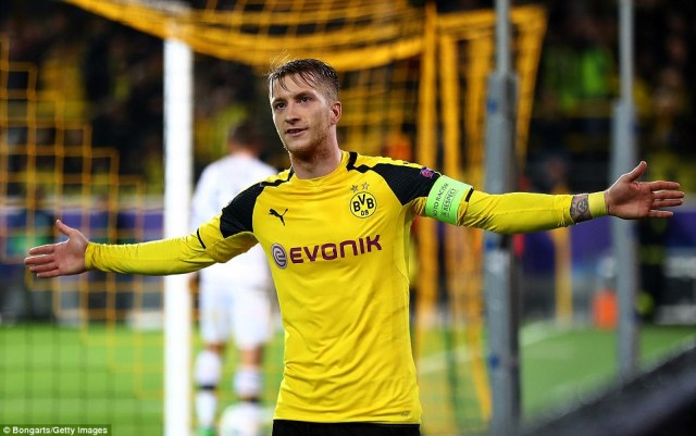 Reus plans to get his match ball signed by his team-mates after announcing his return from injury in the best way possible