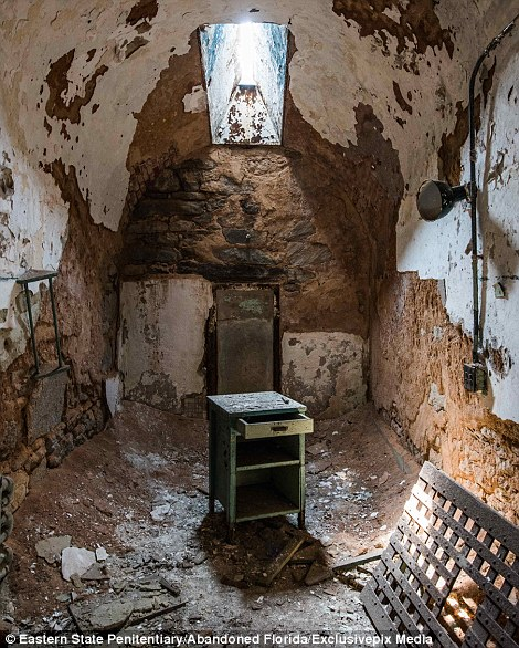 Abandoned Prison In Florida Where Furniture Is Turning To