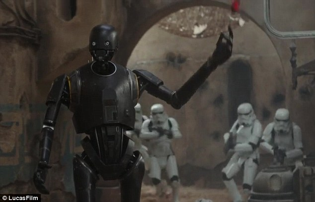 Image result for rogue one k-2so