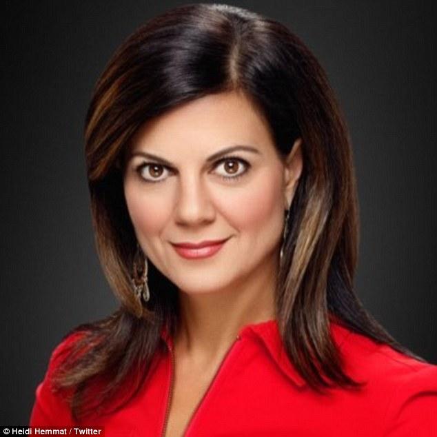 TV anchor Heidi Hemmat quits her job after getting death
