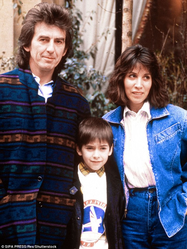 Since being cut from the estate, Louise has not spoken with her nephew, Dhani (pictured with his parents, George and Olivia, in 1988) and she believes George would be devastated to learn of her estrangement.