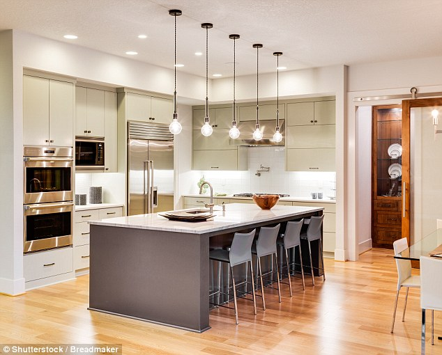 island kitchen countertops materials interiors experts including alison cork reveal why you should never ania choroszczynska the owner and founder of anna fennet design says lighting is