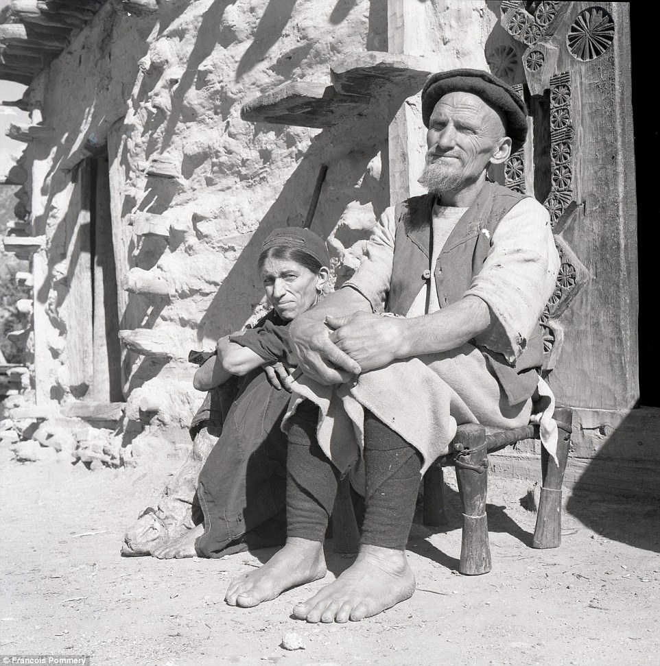 A couple in the village ofWaigal, in the Want District of Nuristan Province, in 1969