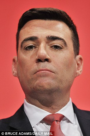 Mr Nuttall is hoping to storm the Commons by standing in the Leigh by-election. The contest will be triggered when Labour's Andy Burnham (pictured) stands down