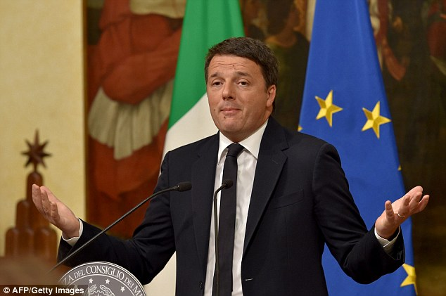 In an emotional press conference, Matteo Renzi said he did all he could, but will resign officially tomorrow when he meets his colleagues