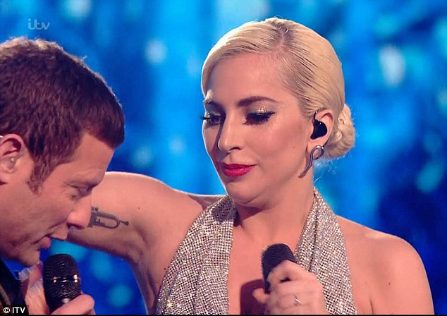 Harsh: X Factor viewers have gone wild over on Twitter Lady Gaga's 'completely different face' after her performance on Sunday night