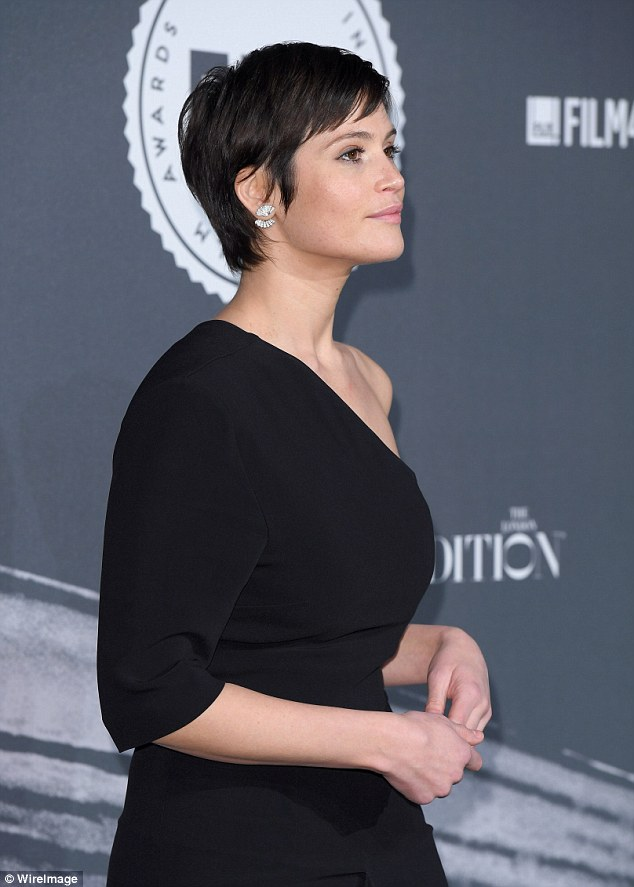 Gemma Arterton Hits The Red Carpet At The British