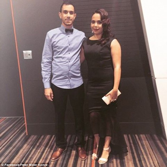 Peter Miller Koncz and his wife, Kahlia, were told they couldn't enter the Palais Hotel on Saturday because they were Aboriginal, he claimed