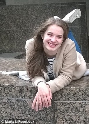 The killing of 19-year-old Maria Ladenburger (pictured) has enraged people in Freiburg