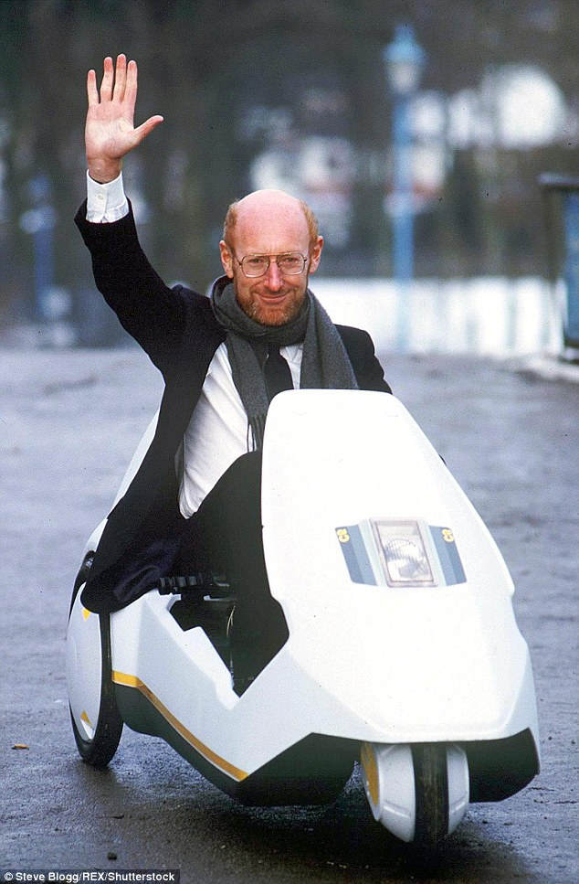 Image result for Clive Sinclair waving