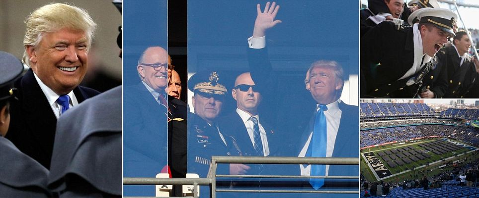 Preparing for White House, Trump to attend Army-Navy game