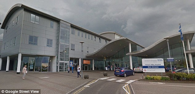 Sister Kuteh is now suing the Darent Valley Hospital in Dartford, Kent for unfair dismissal