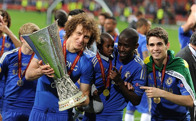 The Brazilian won the Europa League with the club in his first season