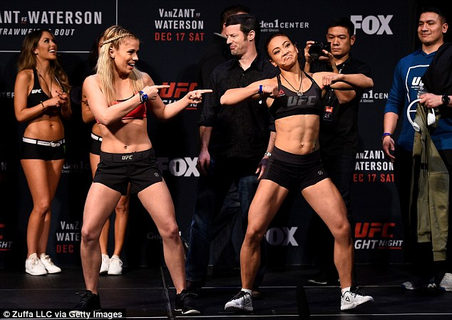 Paige VanZant Forced To Strip Naked To Make Her Weight