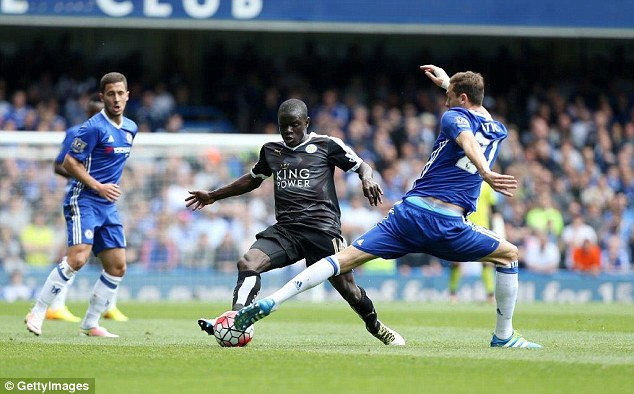 Chelsea boss Antonio Conte made Kante his priority target when taking over at the club