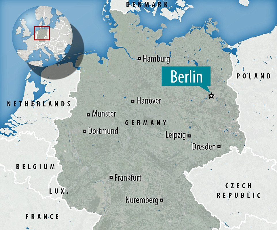 The incident has happened on Monday evening in a busy Christmas market in Berlin, Germany