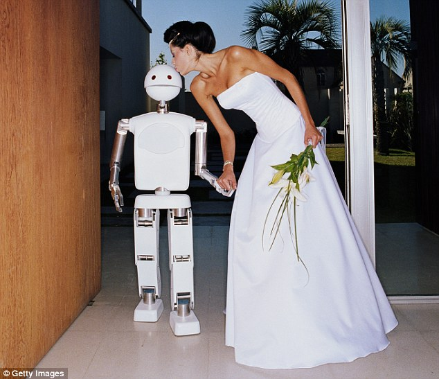 Image result for human-robot marriage
