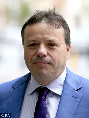 Brexit figurehead Arron Banks (pictured) made the controversial remark as populists across Europe rounded on the German chancellor over her open-doors immigration policy