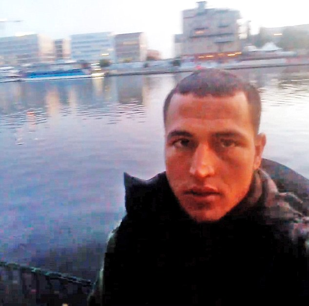Amri had been on the run since Monday night after a attack on a Christmas market in Germany