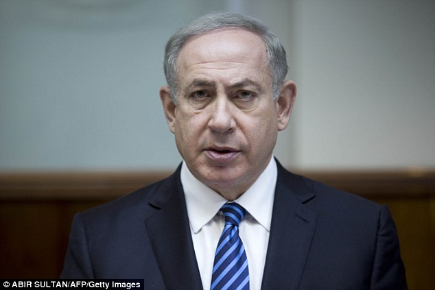 Furious: Israeli leader Benjamin Netanyahu ranted Sunday that the US had orchestrated a UN resolution that denounced the illegal occupation of the West Bank by Israeli settlers