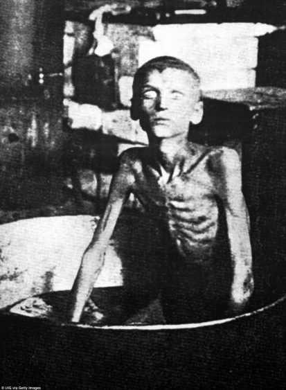 Un niño muere de hambre es descrito en 1933 en los documentos de los archivos del servicio de seguridad de Ucrania